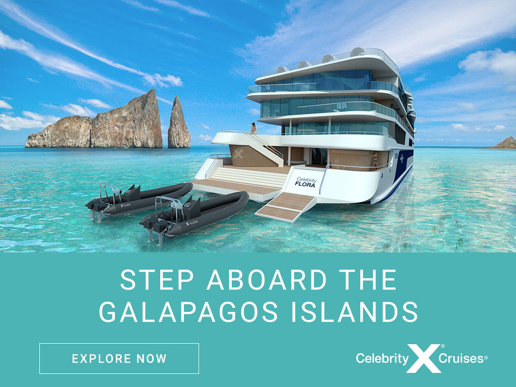 Cruise Galapagos on the Brand New Eco Ship Celebrity Flora
