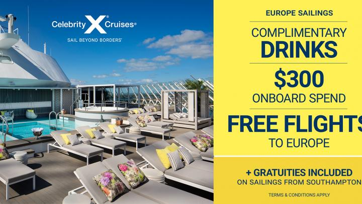 Dream, Discover and Explore with Celebrity Cruises