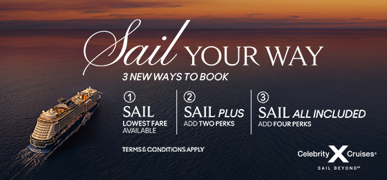 Sail Your Way – New from Celebrity Cruises