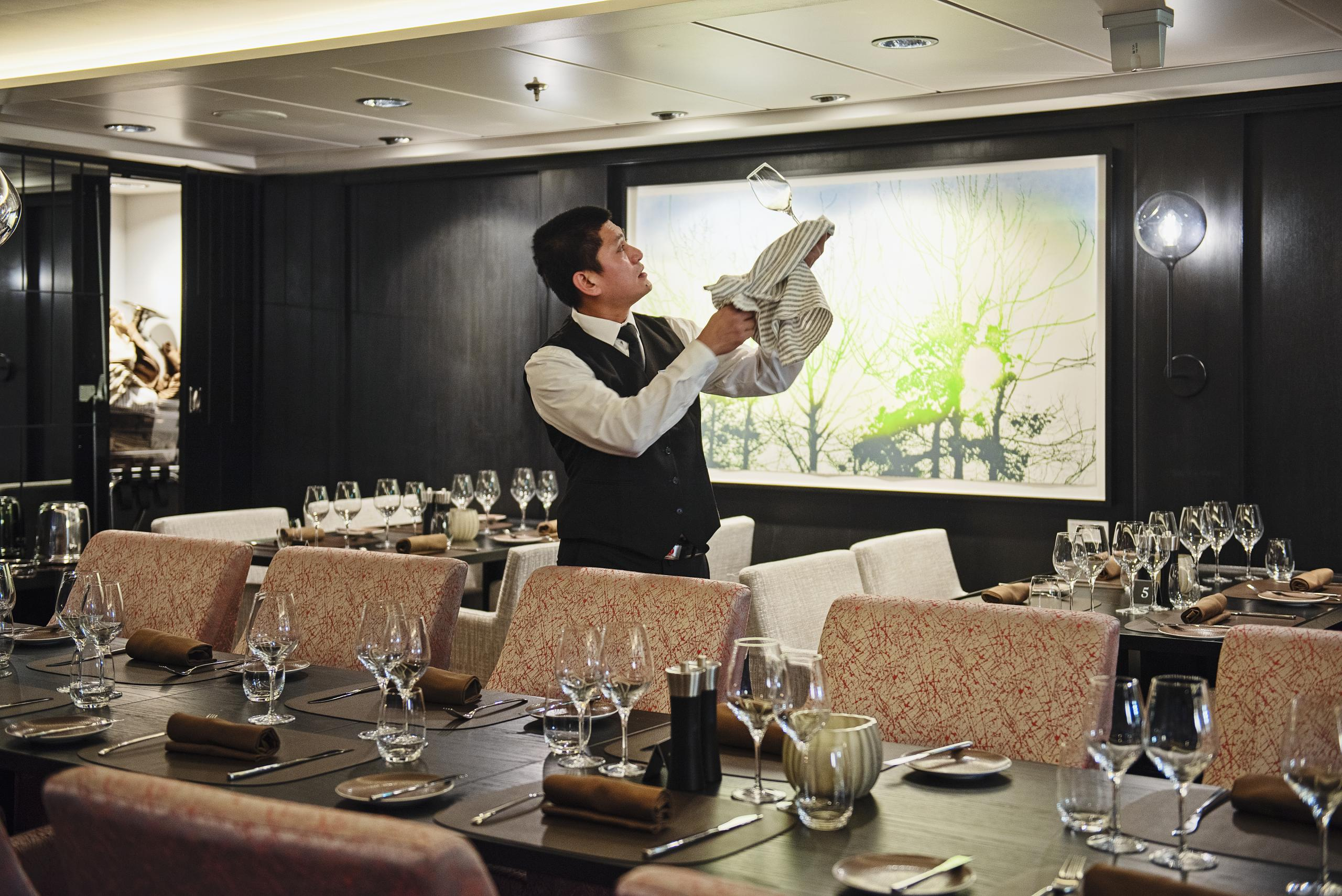 Hurtigruten MS Maud - Lindstrom Premium Dining - sailing year round from Dover on a choice of 4 Exciting Expedition Cruises