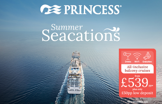 All Inclusive Princess Seacation's from Southampton on Sale 24 March