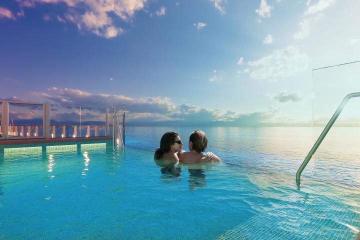 Be Closer to the Sea and enjoy the Infinity Pool