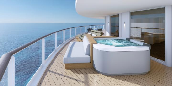Enjoy your own private Whirlpool in Haven H2, H3 and H4 Grades