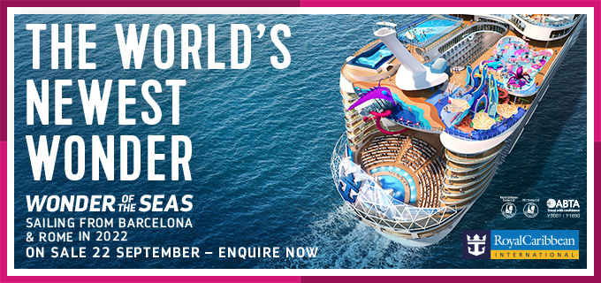 Breaking News – Wonder of the Seas to Sail in the Med in Summer 2022